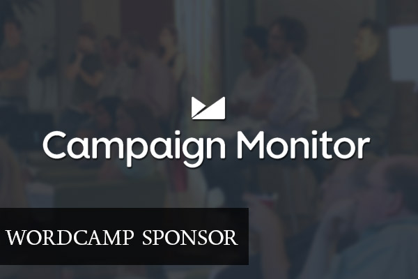 WordCamp Sponsor Campaign Monitor