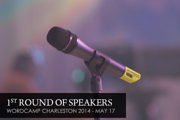 1st round of speakers